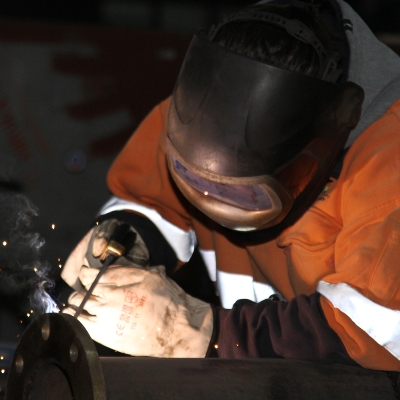 Mechanical plumbing welding